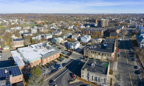 An image of Arlington Massachusetts where ECS Carpet Cleaners is located